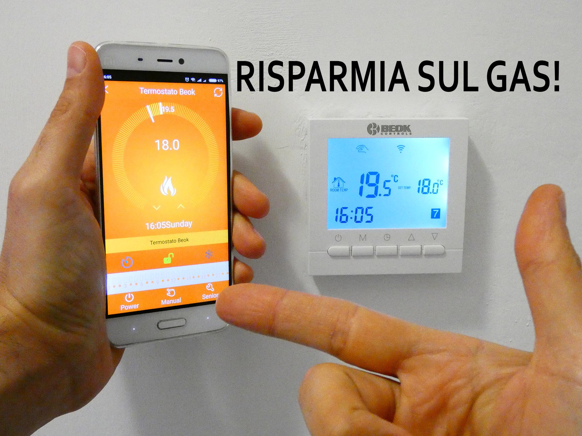 Schema Collegamento Di Termostati A Elettrovalvole E Caldaia : Beok bot w termostato wi fi per caldaia a gas u recensione